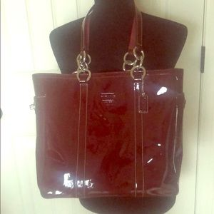 Coach Gorgeous Patent Leather Tote